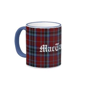 Custom Traditional MacTavish Tartan Plaid Mug