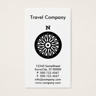 custom travel company business card