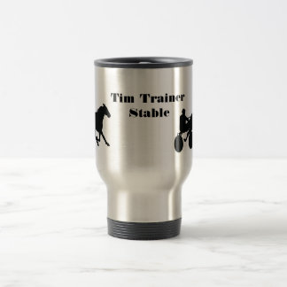 Custom Travel Harness Racing Mug