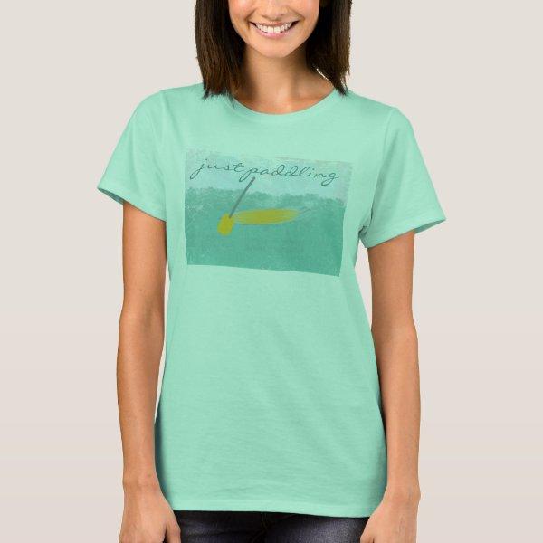 Custom Travel Sea Vacation Just Puddling T-shirt