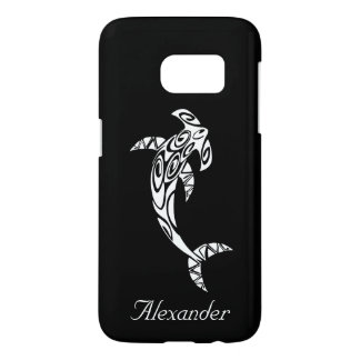 Custom Tribal Hammerhead Shark Illustration Samsung Galaxy S7 Case