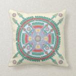 Custom Tribal Motif Pillow