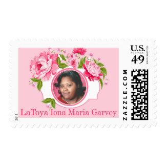 Custom Tribute Stamp - Garvey Family
