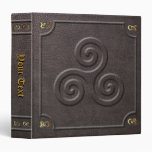 Custom Triskele Book of Shadows Binders