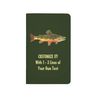Custom Trout Fisherman's Journal