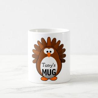 Custom Turkey Coffee Mug