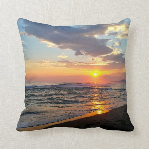 Custom Two-Sided Photo Personalized Throw Pillow