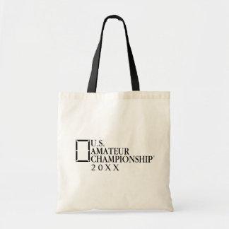 Custom U.S. Amateur Logo - Add Your Own Year Tote Bag