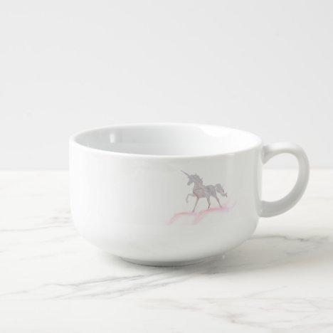 Custom Unicorn Your Business Logo Soup Mug