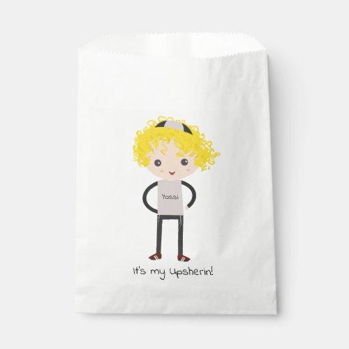 Custom Upsherin Party Bags