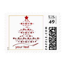 custom usps holiday postage stamps