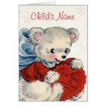 Custom Valentine Card for Kids