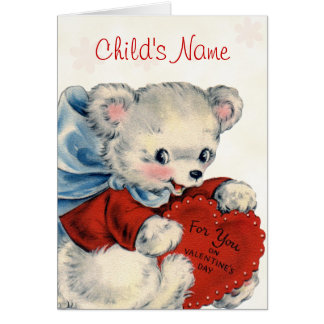 Custom Valentine Card for Kids