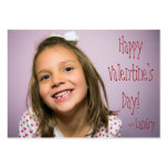 Custom Valentine for Kids With Word Search Business Card