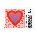 Custom Valentine's Photo Stamp stamp