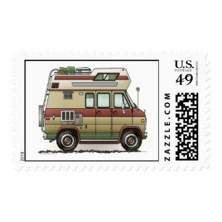 Custom Van Camper Postage