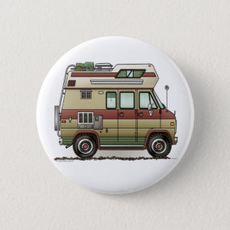 Custom Van Camper RV Button