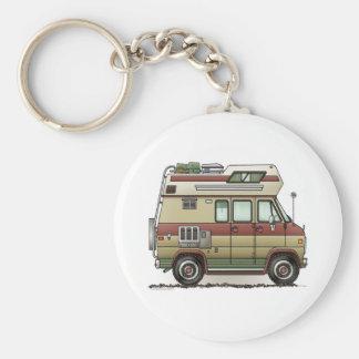 Custom Van Camper RV Keychain