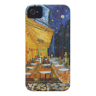 Custom Van Gogh Cafe Terrace Vintage Fine Art iPhone 4 Covers