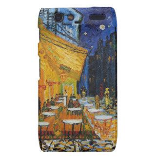 Custom Van Gogh Cafe Terrace Vintage Fine Art Motorola Droid RAZR Case