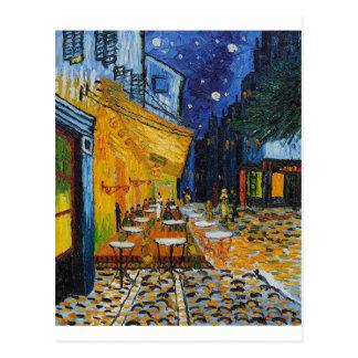 Custom Van Gogh Cafe Terrace Vintage Fine Art Postcards