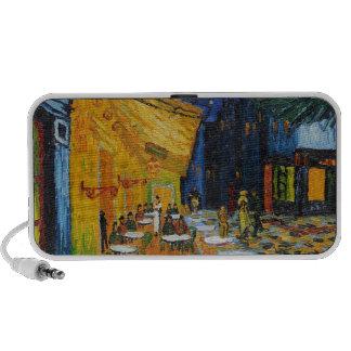 Custom Van Gogh Cafe Terrace Vintage Fine Art Notebook Speakers