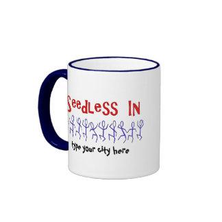 Custom Vasectomy Celebration Ringer Mug