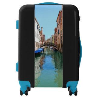Custom Venice Canal Suitcase Luggage