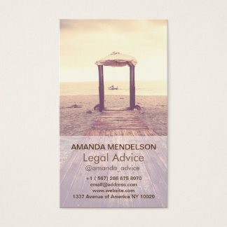 Custom Vertical photography overlay template Business Card