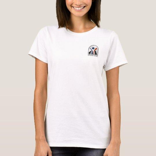 Custom Veterinary Animal Logo with Cat and Dog T-Shirt