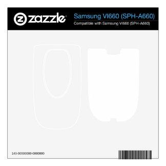 Custom Vi660 Skin Samsung VI660 Skins