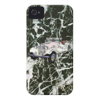 Custom Vintage 1955 MG Convertible Sports Car Case-Mate iPhone 4 Case