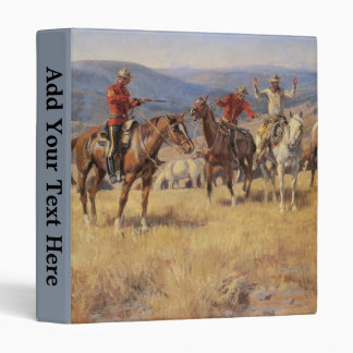 Custom Vintage Canadian Royal Mounted Police Album Binder