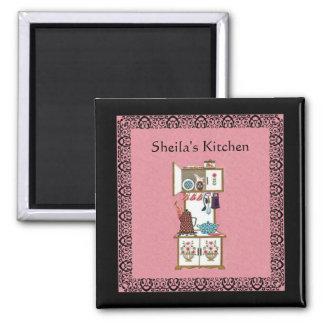 Custom Vintage Kitchen Magnet