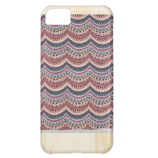 Custom Vintage Pattern Cover For iPhone 5C