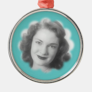 Custom Vintage Photo Christmas Ornaments