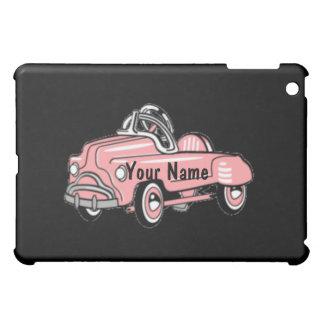 Custom - Vintage Pink Pedal Car iPad Mini Covers