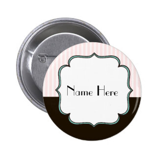 Custom Vintage Style French Theme Button