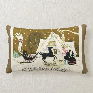 Vintage Christmas Pillows - Vintage Christmas Throw Pillows Zazzle