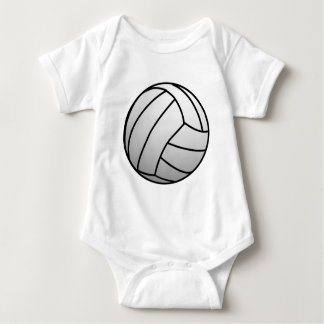 Custom VolleyBall Sports Product Baby Bodysuit