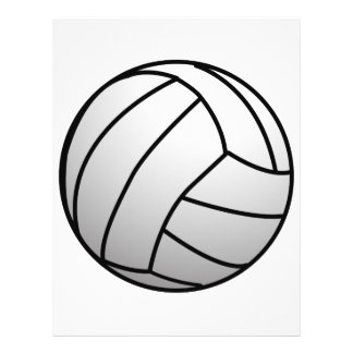 Custom VolleyBall Sports Product Flyer