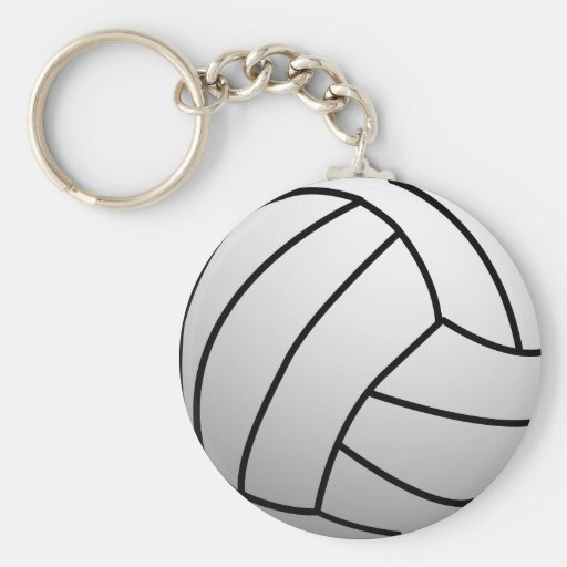 Custom VolleyBall Sports Product Keychains