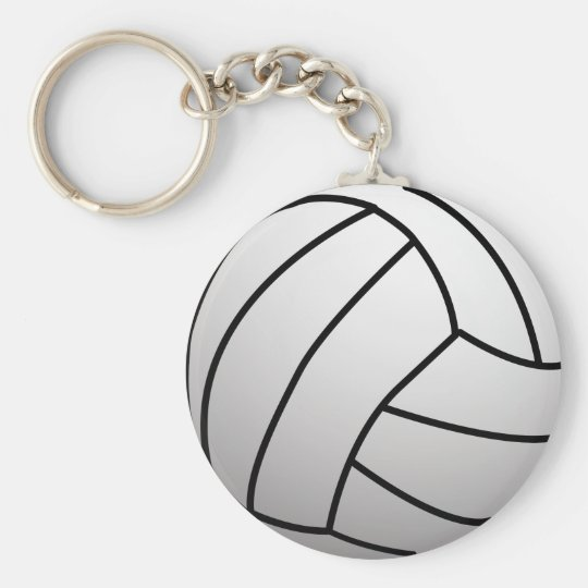 Custom VolleyBall Sports Product Keychain