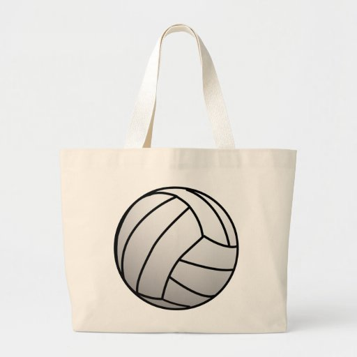 Custom VolleyBall Sports Product Large Tote Bag