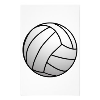 Custom VolleyBall Sports Product Stationery Design