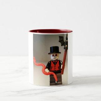 Custom Voodoo Priest Zombie Minifig Two-Tone Mug