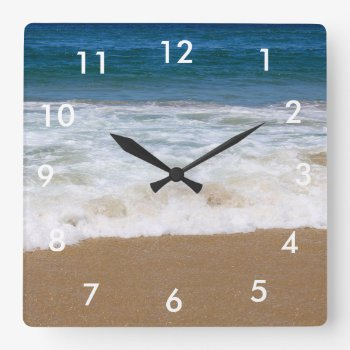 Custom Wall Clock (add Your Own Photo And/or Text) by DesignsByEJ at Zazzle