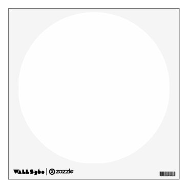 Beach Themed Custom Wall Decal Circle