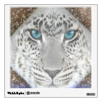 Custom Wall Decal/Snow Leopard Wall Sticker