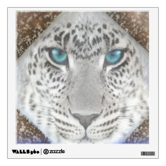 Custom Wall Decal/Snow Leopard Wall Sticker